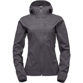 Black Diamond Alpine Start Hoody Jacket Women Smoke